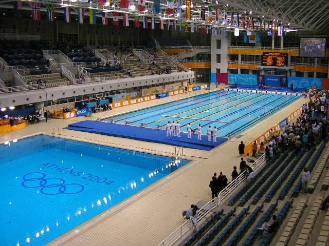 athens 2004 swimming center