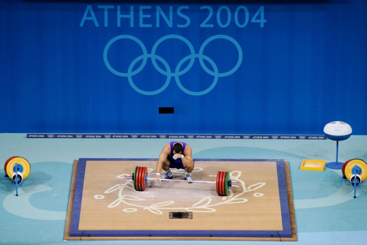 Weightlifting athens 2004 sport image page (2)