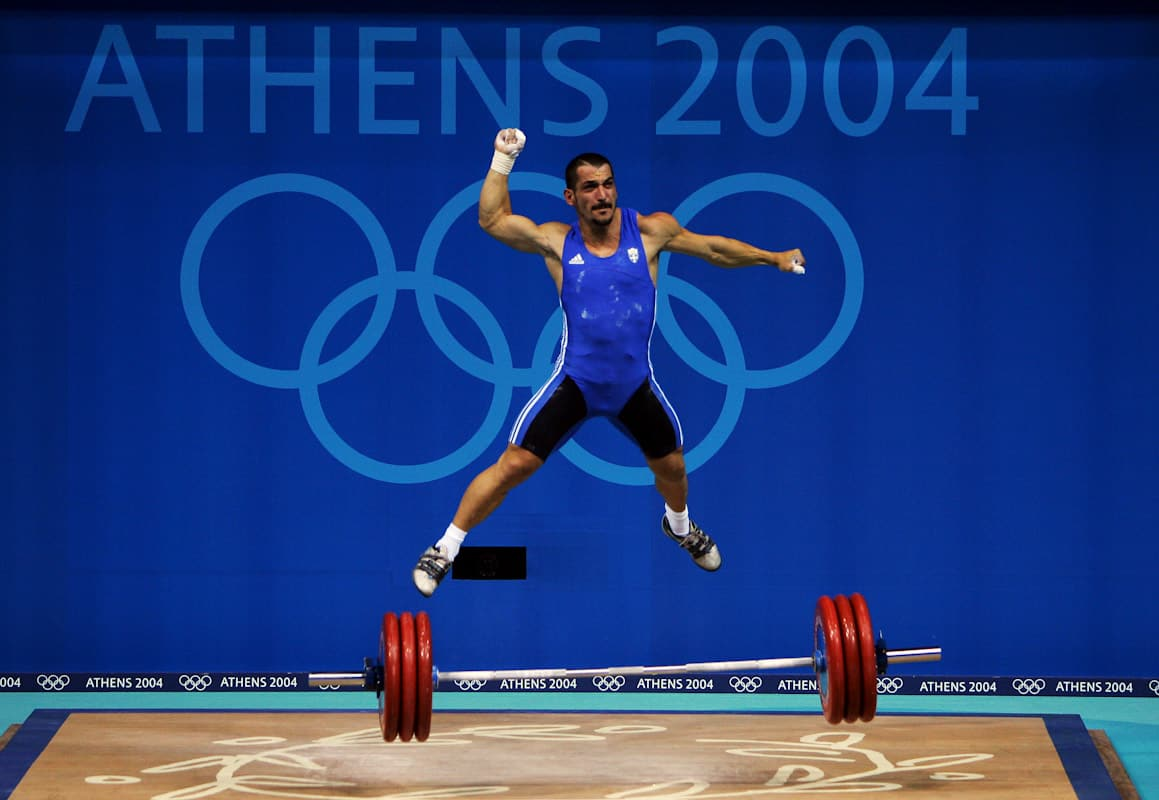 Weightlifting athens 2004 sport image page (3)
