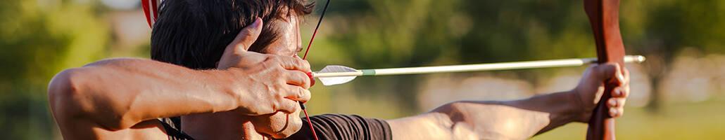 archery sport banner