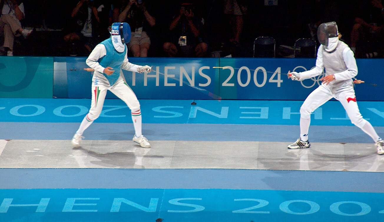 fencing athens 2004 sport image page (1)