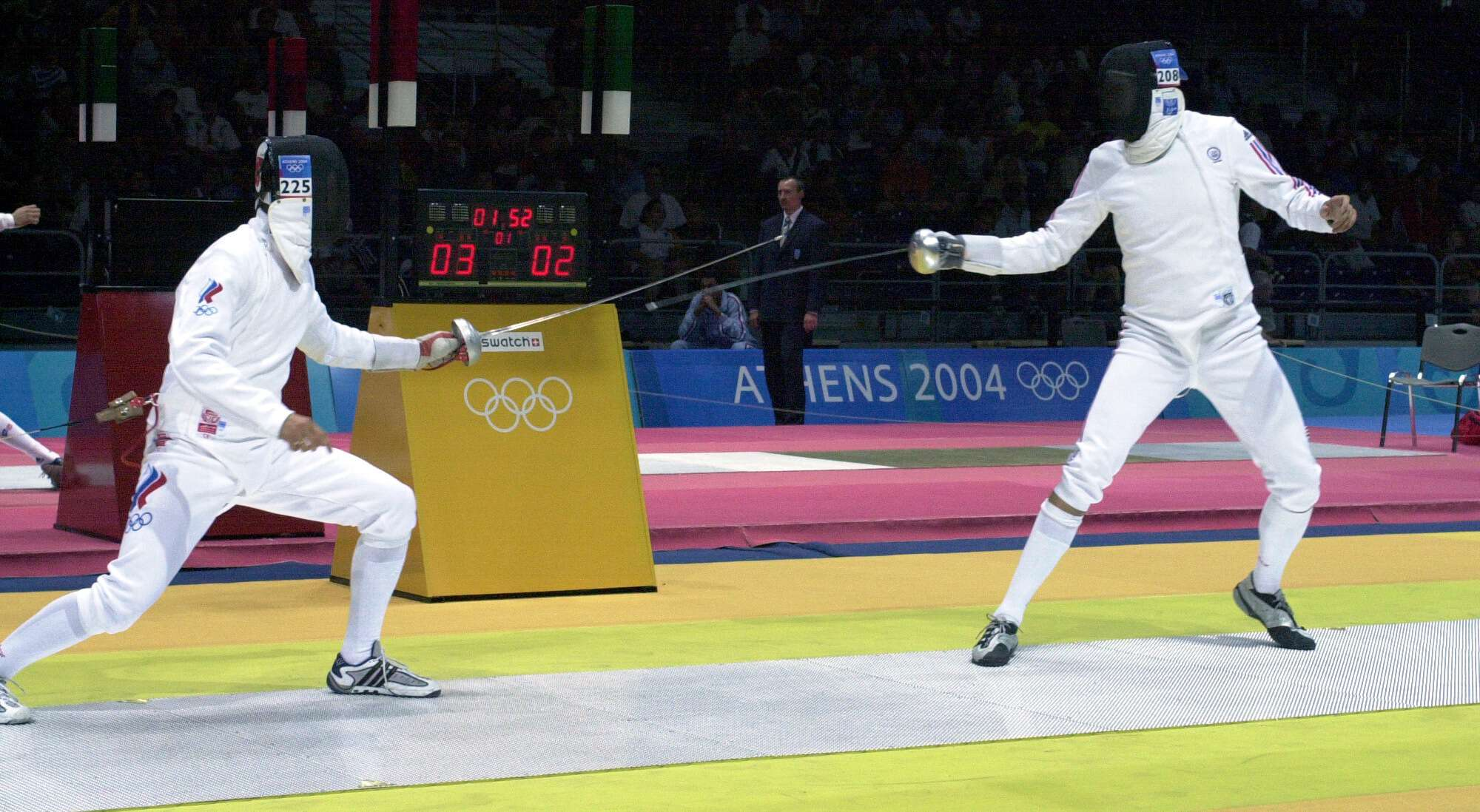 fencing athens 2004 sport image page (2)