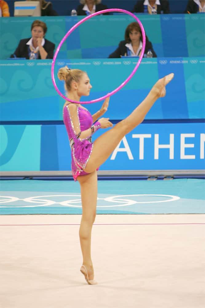 rhythmic gymnastics sport athens 2004 image page