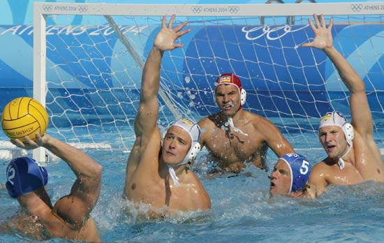 water polo sport athens 2004 image page