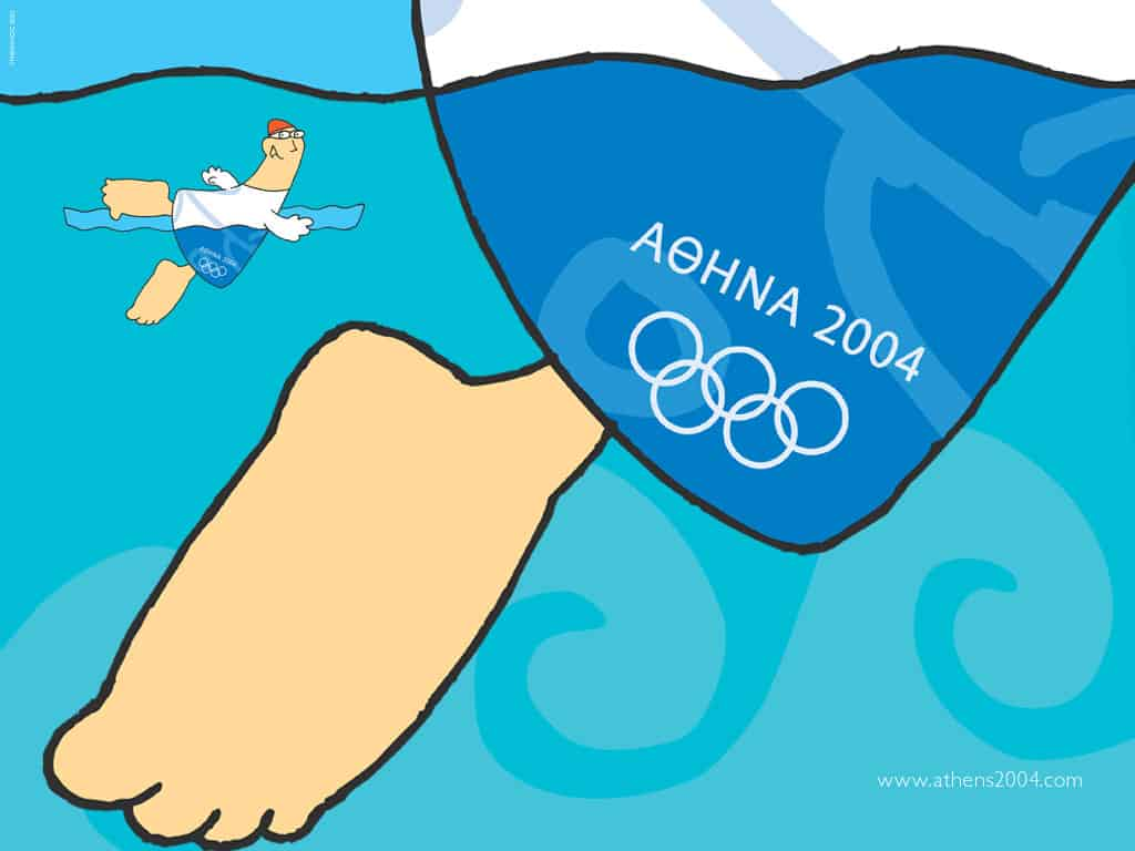 swimming-sport-mascot-athens-2004-olympic-games-photo-page