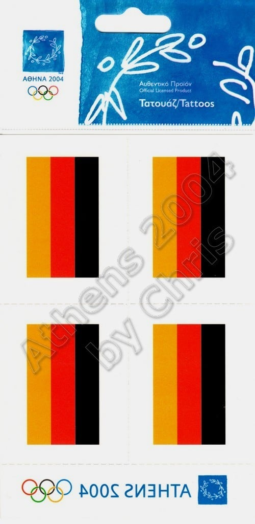 germany-flag-tattoos-athens-2004-olympic-games-2
