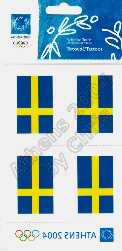 swedish-flag-tattoos-athens-2004-olympic-games-2